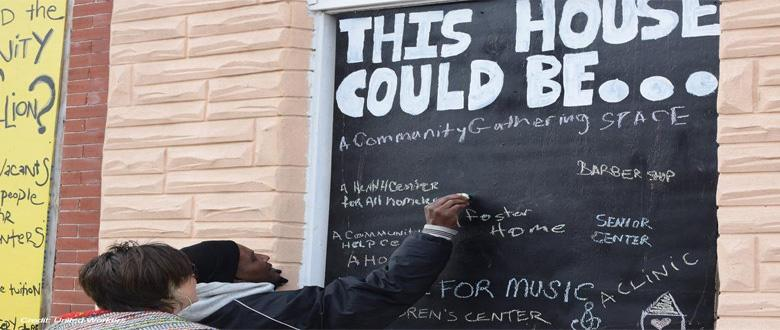 Community Artists Envision a Thriving Baltimore without Displacement